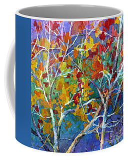 Beyond The Woods - Orange Coffee Mug