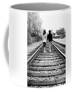 Coffee Mug featuring the photograph Bff's by Greg Fortier