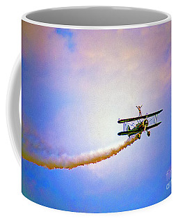 Bi-plane And Wing Walker Coffee Mug