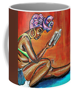 Bible Reading Coffee Mug