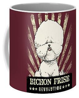 Bichon Frise Revolution Coffee Mug