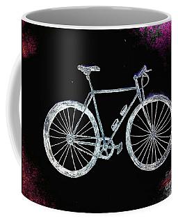 Bicycle Abstract Coffee Mug