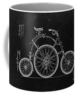Bicycle From 1899 - Black Coffee Mug