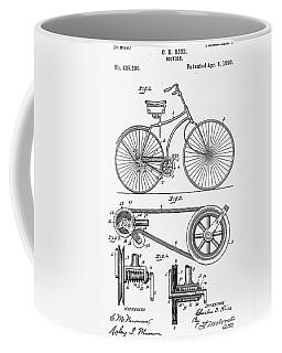 Bicycle Patent 1890 Coffee Mug