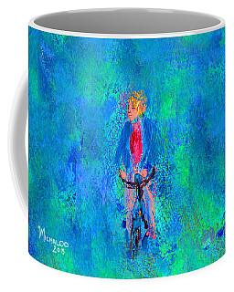 Bicycle Rider Coffee Mug