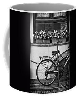 Bicycle With Flowers Coffee Mug