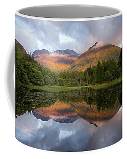 Bidean Nam Bian At Sunset Coffee Mug