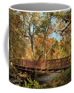 Coffee Mug featuring the photograph Bidwell Park Bridge In Chico by James Eddy