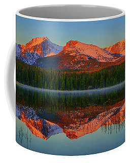 Coffee Mug featuring the photograph Bierstadt Alpenglow by Greg Norrell