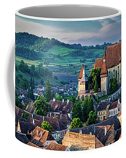 Biertan Church Dawn - Romania Coffee Mug