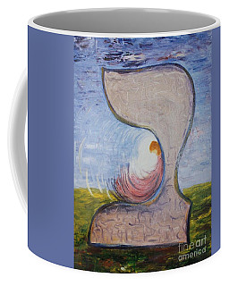 Biet - Meditation In Oil Coffee Mug