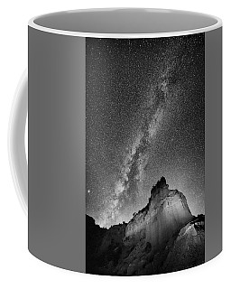 Coffee Mug featuring the photograph Big And Bright In Black And White by Stephen Stookey