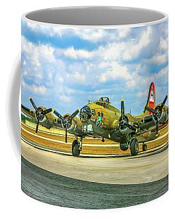 Big Bad Boeing B17 Coffee Mug by Chris Smith
