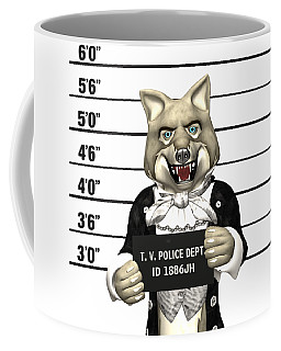 Big Bad Wolf Mugshot Coffee Mug