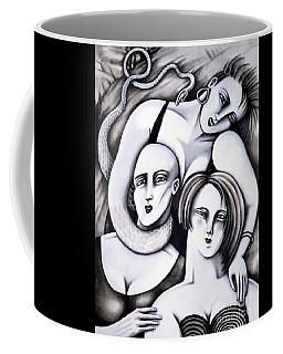 Big Bald And Boa Coffee Mug