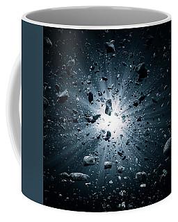Big Bang Explosion In Space Coffee Mug
