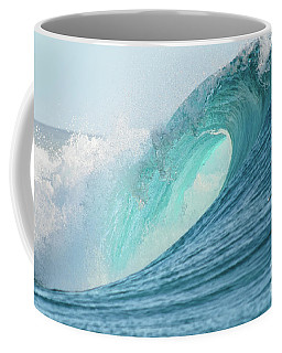 Big Barrel Wave Breaking For Surfing Coffee Mug
