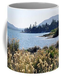 Big Bear Lake Shoreline Coffee Mug