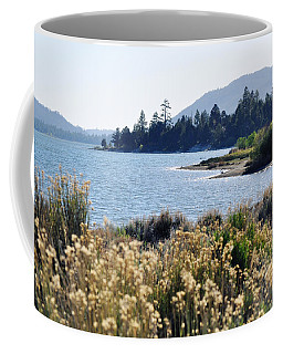 Big Bear Lake Shoreline Coffee Mug