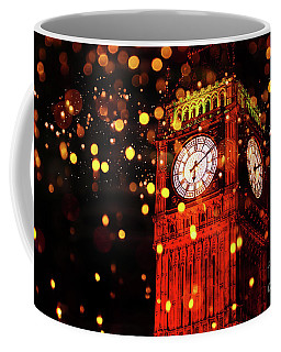 Big Ben Aglow Coffee Mug