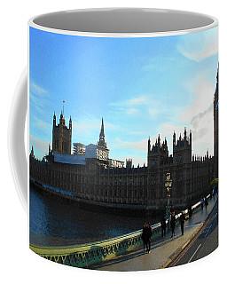 Big Ben And Parliament London City Coffee Mug