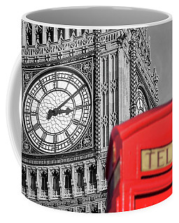 Coffee Mug featuring the photograph Big Ben by Delphimages Photo Creations