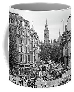 Coffee Mug featuring the photograph Big Ben From Trafalgar Square by Joe Winkler