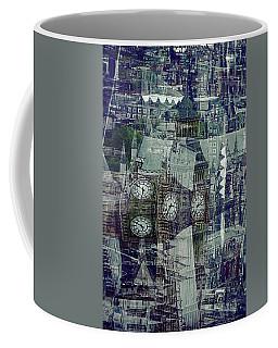 Big Ben Patterns Coffee Mug by Karen McKenzie McAdoo