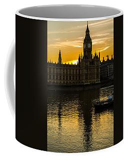 Big Ben Tower Golden Hour In London Coffee Mug