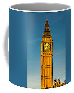 Big Ben Tower Golden Hour London Coffee Mug