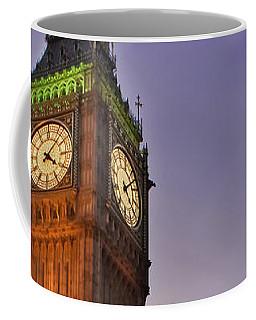 Coffee Mug featuring the photograph Big Ben Twilight In London by Terri Waters