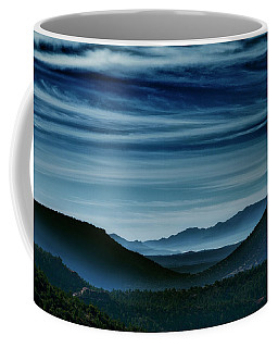 Big Bend At Dusk Coffee Mug