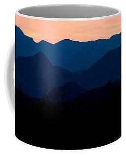 Big Bend Orange Blue Layers Coffee Mug