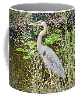 Big Blue On The Alert Coffee Mug by Judy Kay
