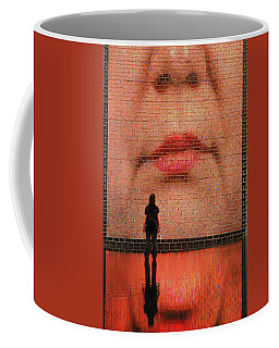 Big Brother Sister Is Watching Coffee Mug by James Kirkikis