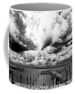 Big Clouds Little Dock Coffee Mug