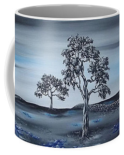 Coffee Mug featuring the painting Big Country by Kenneth Clarke