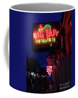 Coffee Mug featuring the photograph Big Easy Sign by Steven Spak