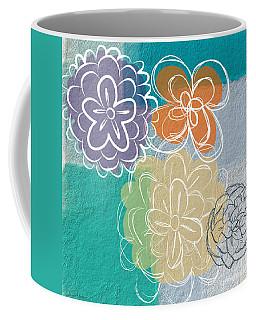 Big Flowers Coffee Mug