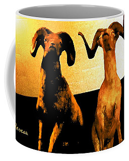 Big Game Canada - Fannin Sheep Coffee Mug by Sadie Reneau