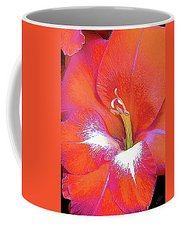Big Glad In Orange And Fuchsia Coffee Mug