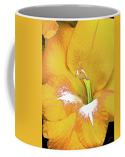 Big Glad In Yellow Coffee Mug