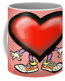 Big Heart Coffee Mug by Kevin Middleton