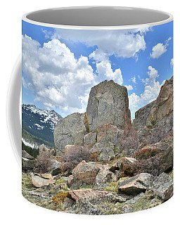 Big Horn Mountains In Wyoming Coffee Mug
