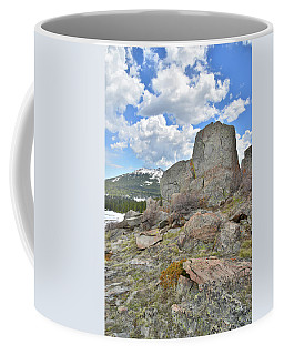 Big Horn Pass Rock Croppings Coffee Mug