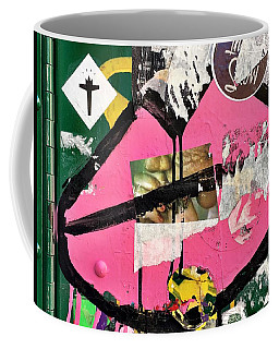 Coffee Mug featuring the photograph Big Kiss by JoAnn Lense