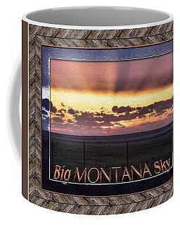 Coffee Mug featuring the photograph Big Montana Sky by Susan Kinney