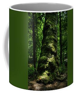 Big Moody Tree In Forest Coffee Mug