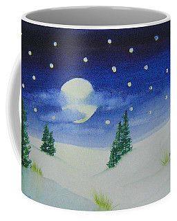 Big Moon Christmas Coffee Mug