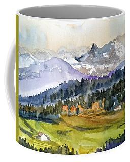 Big Mountain Sunset Coffee Mug